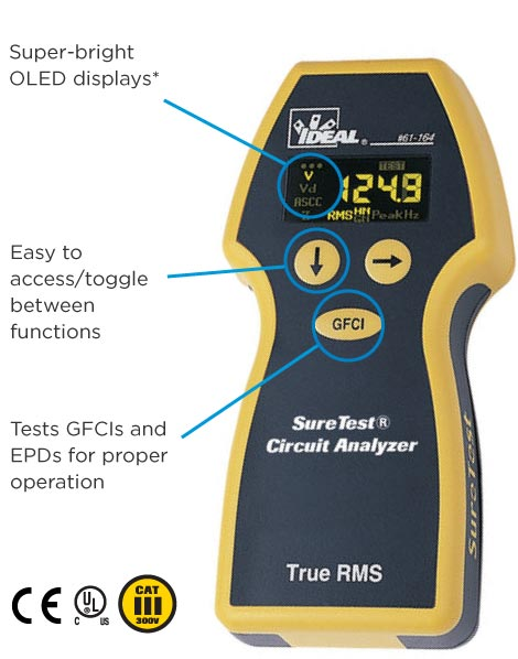 SureTest® Circuit Analyzer | IDEAL Electrical